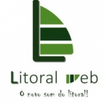 Logo da emissora Litoral Web