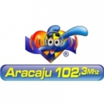 Logo da emissora Rádio Xodó 102.3 FM