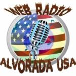 Logo da emissora Alvorada USA
