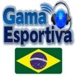 Logo da emissora Gama Esportiva