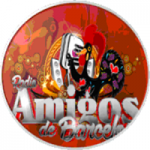 Logo da emissora Amigos de Barcelos