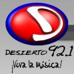 Logo da emissora Radio Desierto 92.1 FM