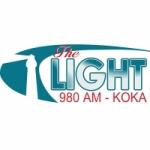 Logo da emissora Radio KOKA The Light 980 AM