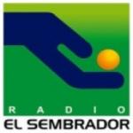 Logo da emissora Radio El Sembrador 104.7 FM