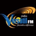 Logo da emissora Rádio Versátil FM