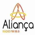 Logo da emissora Rádio Aliança 99.9 FM