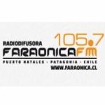 Logo da emissora Radio Faraónica 105.7 FM
