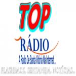 Logo da emissora Top Rádio Santa Vitoria