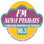 Logo da emissora Rádio Nova Pinhais 98.3 FM