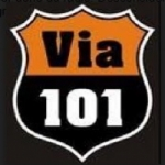 Logo da emissora Rádio Via 101