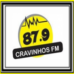 Logo da emissora Rádio Cravinhos 87.9 FM