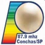 Logo da emissora Rádio Perolas 87.9 FM