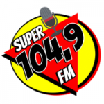Logo da emissora Rádio Super 104.9 FM