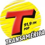 Logo da emissora Rádio Transamérica Pop 91.9 FM