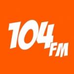 Logo da emissora 104 FM BH