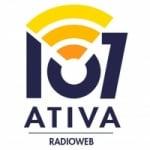 Logo da emissora 107 Ativa