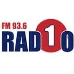 Logo da emissora Radio 1 93.6 FM