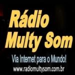 Logo da emissora Rádio Multy Som