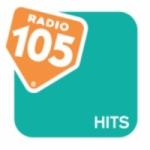 Logo da emissora Radio 105 Hits FM