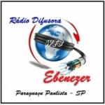 Logo da emissora Rádio Difusora Ebenézer 105.9 FM