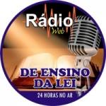 Logo da emissora Rádio Ensino da Lei