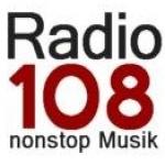 Logo da emissora Radio 108 FM