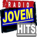Logo da emissora Rádio Jovem Hits FM