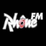 Logo da emissora Rhône 104.3 FM