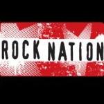 Logo da emissora Rock Nation 104.6 FM