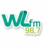 Logo da emissora Rádio WL 98.7 FM