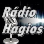 Logo da emissora Rádio Hagios