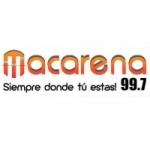 Logo da emissora Radio Macarena 99.7 FM
