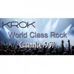Logo da emissora Radio KROK 95.7 FM