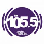 Logo da emissora Rádio Aleluia 105.5 FM