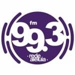 Logo da emissora Rádio Aleluia 99.3 FM