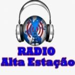 Logo da emissora Rádio Alta Estação