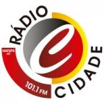 Logo da emissora Radio Cidade 101.1 FM