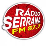 Logo da emissora Rádio Serrana 87.7 FM