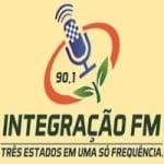Logo da emissora Rádio Integração 90.1 FM