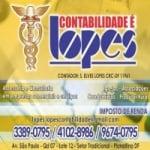 Logo da emissora Lopes Contabilidade FM