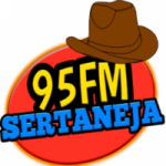 Logo da emissora Rádio 95 Sertaneja