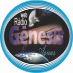 Logo da emissora Gênesis Novas Águas