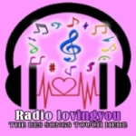 Logo da emissora Rádio Loving You