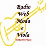 Logo da emissora Rádio Web Moda e Viola