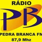 Logo da emissora Rádio Pedra Branca 87.9 FM