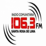 Logo da emissora Rádio Santa Rosa 106.3 FM