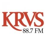 Logo da emissora Radio KRVS 88.7 FM