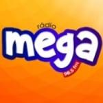Logo da emissora Rádio Mega 98.5 FM