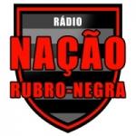 Logo da emissora Rádio Nação Rubro Negra