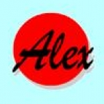 Logo da emissora Alex 105.2 FM